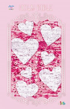 Sequin Sparkle Bible Pink