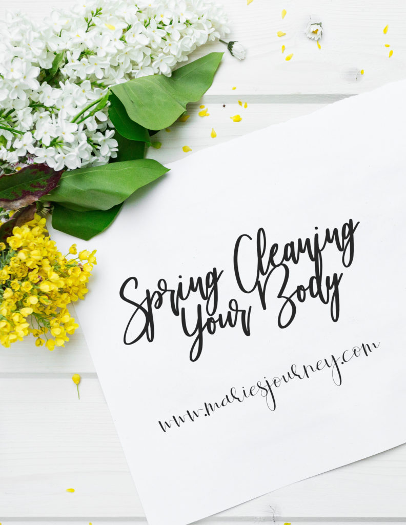 Spring Cleaning Your Body Pinterest