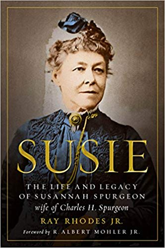 Susie Book Cover featuring Susannah Spurgeon