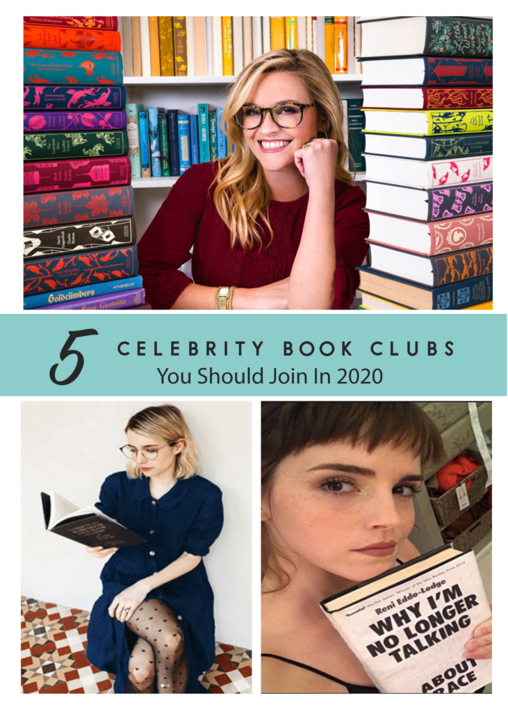 5 celebrity book clubs you should join in 2020